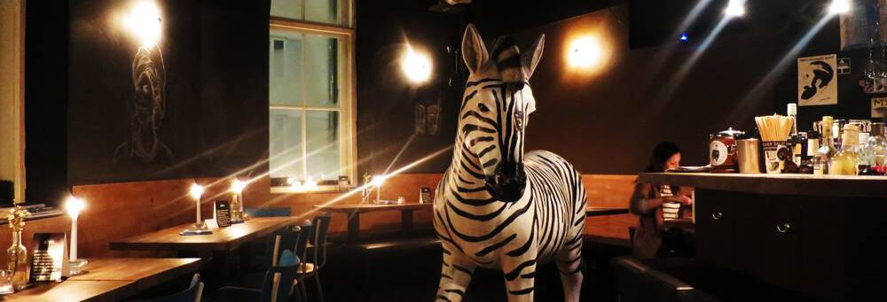 Zebra im Attentat